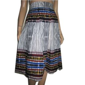 New BEAUTIFUL Stretch Cotton Fiesta Skirt ELIQUII
